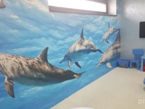 Fototapeta delfíny