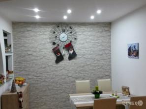 Imitácia kameňa - tapeta na stenu, referencia