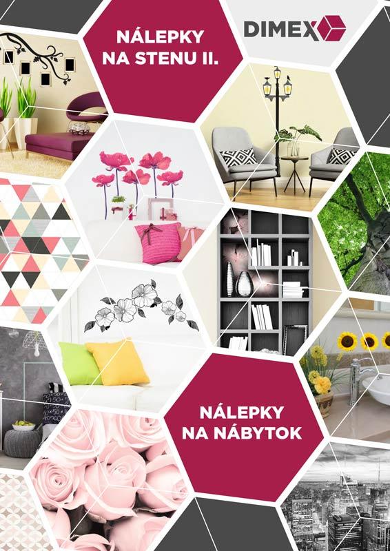 Katalog nalepky na stenu 2