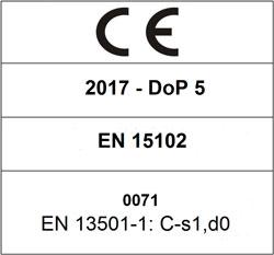 CE 2017 DoP 5