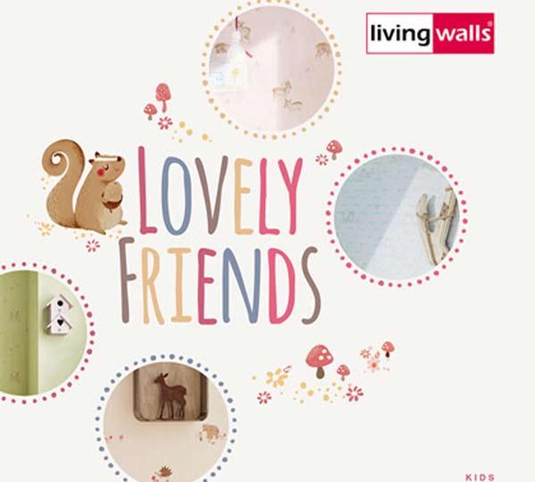 Katalóg tapiet Lovely friends