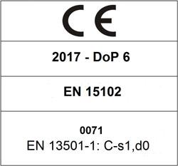 CE 2017 DoP 6