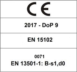 CE 2017 DoP 9